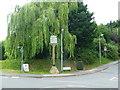 TL1534 : Village sign, Stondon by Humphrey Bolton