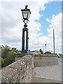 NT7233 : Old lamp standardt on Kelso Bridge by Oliver Dixon