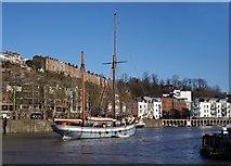 ST5772 : Bristol boats 3 by Anthony O'Neil