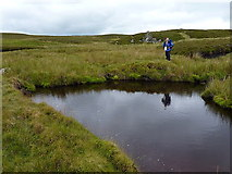 SH7741 : The confluence of the Serw and the Nant Derbyniad by Richard Law