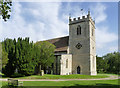 SU6396 : Church of St Mary, Chalgrove - the tower by Alan Murray-Rust