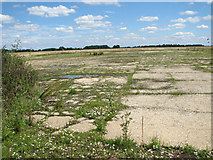 TF6203 : Last remains of a runway by Evelyn Simak