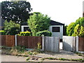 TQ7563 : Derelict Prefab, Sharon Crescent, Weedswood by Chris Whippet