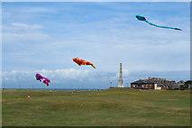 NX1897 : Kites at Stair Park, Girvan by Billy McCrorie