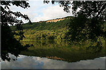 SE5083 : Reflection of Whitestone Cliff in Lake Gormire by Chris