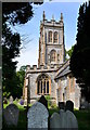 ST4226 : Church of St Mary the Virgin, Huish Episcopi, Somerset by Edmund Shaw