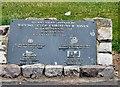 SH7882 : Prince Edward Square regeneration commemorative stone by Gerald England