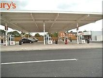 SO9098 : Sainsbury's Petrol by Gordon Griffiths