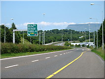 G6729 : The N4 near Ballysadare by David Purchase