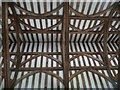 SP8510 : Weston Turville - St.Mary's - Nave roof by Rob Farrow