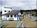 NS2480 : Kilcreggan pier by Gordon Brown