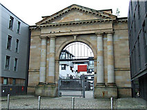 NS6064 : Former Glasgow Cattle and Meat Market by Thomas Nugent