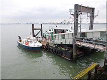 SU4208 : Pier Head, Hythe by Oliver Dixon