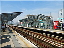 TQ3880 : East India DLR Station by Shazz