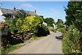 SW7624 : Lane into Manaccan by Bill Boaden