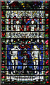 SU8504 : Chichester Cathedral - Window by John Salmon