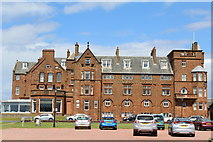 NS3229 : The Marine Hotel, Crosbie Road, Troon by Leslie Barrie