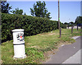TQ3764 : City Common Boundary Post by Des Blenkinsopp