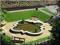 NT9953 : Refurbished Lily Pond, Castle Vale Park by Graham Robson
