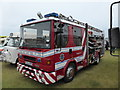 TV6198 : Fire Engine on Western Lawns Eastbourne by PAUL FARMER