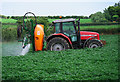 J5382 : Crop spraying, Bangor by Rossographer