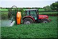 J5382 : Crop spraying, Bangor by Rossographer