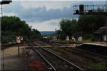SX9193 : Bridge over the Exe at Exeter St David's by John Winder