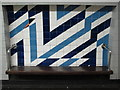 TQ3076 : Stockwell tube station, Victoria Line, ceramic tiles by Mike Quinn