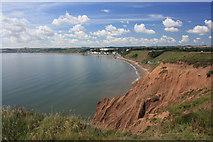 TA1281 : Calm sea in Filey Bay by Pauline E