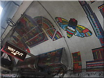 TQ2981 : Tottenham Court Road tube station - Paolozzi mosaic, Central Line (21) by Mike Quinn