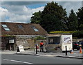 SN3010 : Ice cream stall, Laugharne by Jaggery