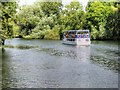 SU9973 : Cruise Boat on the Thames at Runnymede by David Dixon