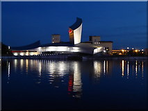 SJ8097 : The Imperial War Museum North at Salford Quays by Rod Allday