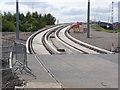 SK5538 : Lenton Railway Bridge approach by Alan Murray-Rust