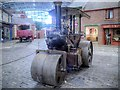 "SU6252 : Wallis and Steevens Road Roller ""Simplicity"" at Milestones Museum by David Dixon"