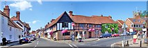 SU7682 : Henley-on-Thames : Street Corner by Len Williams