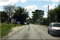 SP7711 : Bus stop on Oxford Road by Steve Daniels