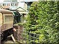 SU7239 : The Watercress Line Arriving at Alton by David Dixon