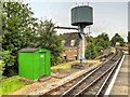 SU7239 : Watercress Line Water Tower at Alton Railway Station by David Dixon