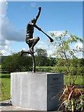 W9994 : The sculpture of Ned Power by David Purchase