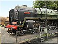 SU6332 : Britannia Class 70000 at Ropley Sidings, Mid-Hants Railway by David Dixon