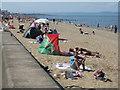 NT3173 : The beach at Joppa by M J Richardson