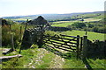 SD5461 : Footpath to Skelbow Barn by Bill Boaden