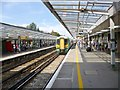 SU8504 : Chichester Station, Platform 1 by Mike Faherty