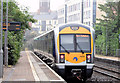 J3373 : Train, City Hospital station, Belfast - July 2014(1) by Albert Bridge