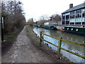 SP5007 : Path alongside the Oxford Canal north of Aristotle Bridge, Oxford by Jaggery