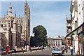 TL4458 : Cambridge: King's Parade, 1990 by Ben Brooksbank