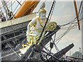 SU6200 : Figurehead, HMS Warrior by David Dixon
