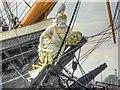 SU6200 : Figurehead, HMS Warrior by David Dixon