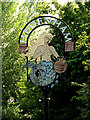 TM3192 : Hedenham Village sign by Adrian Cable